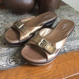 Cole Haan Nike Air Bronze Sandals
